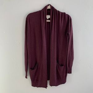 NWT Wilfred Silk & Cashmere Cardigan Sweater S